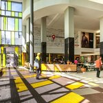The trendy Rosebank Mall is accessed fron the hotel's 2nd floor