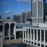 View of Lincoln Center from 7th floor room
