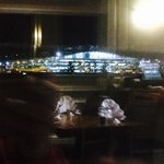 View from dining room of T5