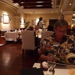 The restaurant that served Indian food and live music