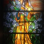 Beautiful stain glass window!