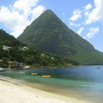 Great view of the Pitons