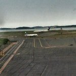 Awesome view of Logan Airport