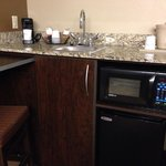 Microwave/Fridge King Suite - Oct 2014