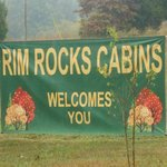 Rim Rock's Dogwood Cabins Foto