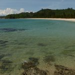 lovely beach, crystal clear water