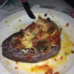 Dinner in Leonidas (not a lot of choice but what they have is incredibly good)