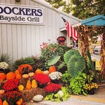 Dockers Grille Fall Decorations