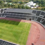 A view of the stadium from