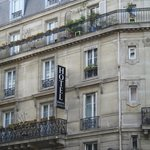 FACHADA DO HOTEL SEROTEL LUTECE PARIS
