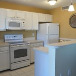 Kitchen in one of many Tower Ocean View 2 bedrooms