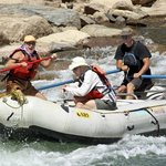 Rafting the lower Anima with MIld to Wild