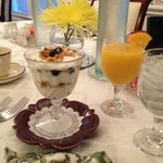The yogurt parfait at breakfast...