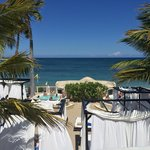 VIP beach. The only spot with free wifi. The beach closes before sunset and so do the pools