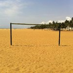 Football at Lome Beach!