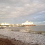 Beautiful autumn day in Eastbourne