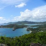 Shirley's Heights (a must see in Antigua)