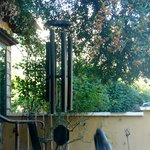 Beautiful chimes on patio