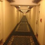 The hallway from my room