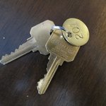 Scotia Inn: keys, not cards