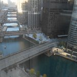 View from the Room - Chicago Marathon 2014