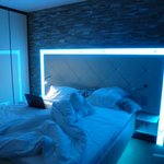 Funky bed light