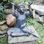 Another lovely statue in the garden