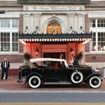 1929 Rolls Royce Phantom at the GW. What a ride!