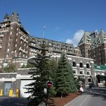 Front view of the Banff Springs