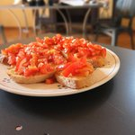 Bruschetta with Casa Sola olive oil