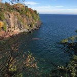 Over look of Lake Superior