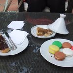 Macarons and Moroccan pastries