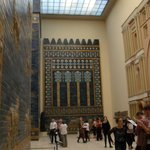 Ishtar gate, lateral view