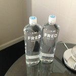 And the ever popular Fred water