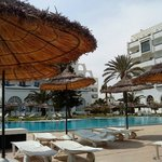 Pool u.beide Hotels