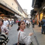 Eliza, our Florence Guide