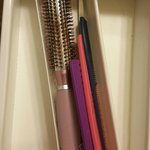 Hairbrushes found in bathroom drawer (!)