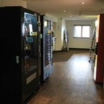Vending machines and fridge