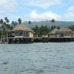 over water fale