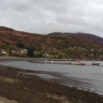 Weather was not good but we still appreciated the scenery.  Visit to Ullapool was well worth it