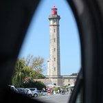 le phare depuis le parking