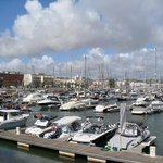 The marina at Lagos