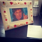 My special request of David Hasselhoff. Absolutely love that they went through with it.