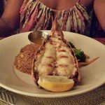 Our lobster dinner at Hemingway.