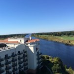 View of the Intracoastal Waterway from the room.