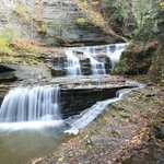 Falls along the Gorge Trail