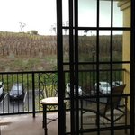Vineyard view superior patio room on the 2nd floor