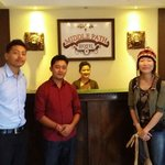Photo with the Hotel Staff