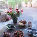 Tagine on the terrace