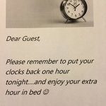 Friendly touch from a friendly hotel.